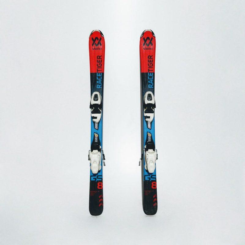 Schiuri Volkl Racetiger GS 8 Jr Albastru/Rosu