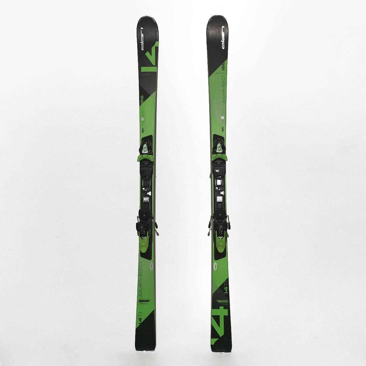 Schiuri Elan Amphibio 14 Mono TI Negru/Verde