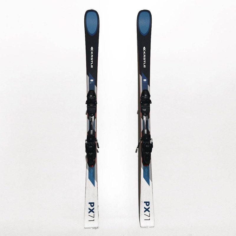 Schiuri Kastle PX 71 Negru/Albastru