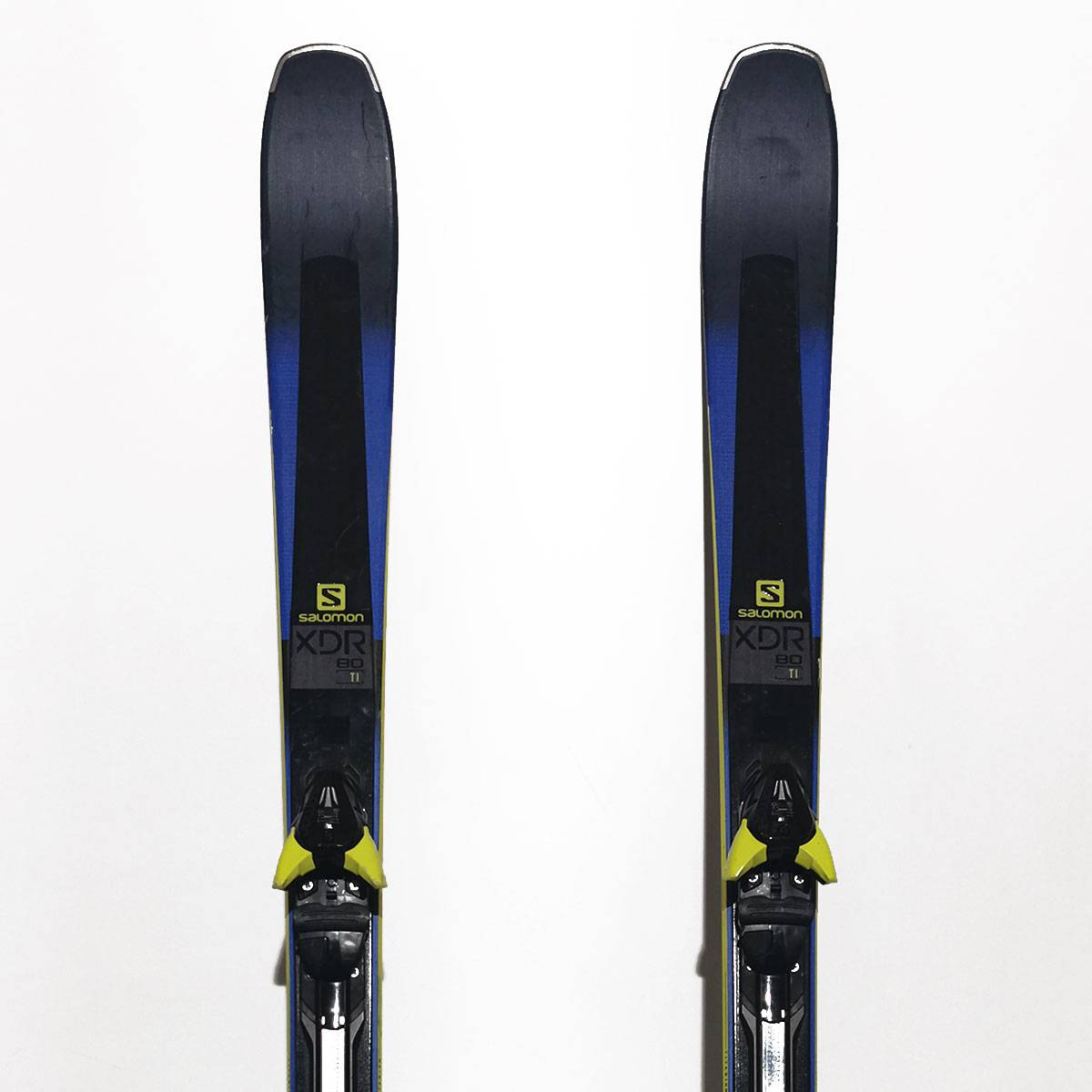 Schiuri Salomon XDR 80 TI Albastre